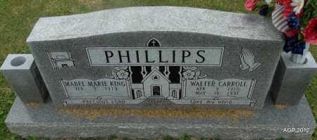 PHILLIPS, WALTER CARROLL - Washington County, Arkansas | WALTER CARROLL PHILLIPS - Arkansas Gravestone Photos