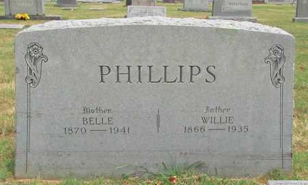 PHILLIPS, WILLIE - Washington County, Arkansas | WILLIE PHILLIPS - Arkansas Gravestone Photos