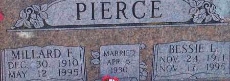 PIERCE, BESSIE L. - Washington County, Arkansas | BESSIE L. PIERCE - Arkansas Gravestone Photos