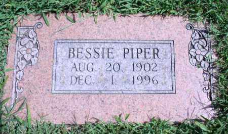 PIPER, BESSIE - Washington County, Arkansas   BESSIE PIPER - Arkansas Gravestone Photos