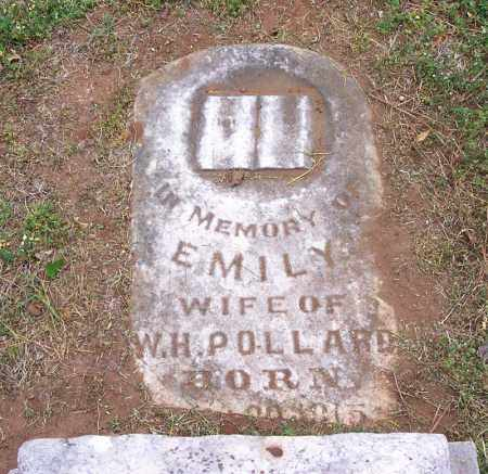 POLLARD, EMILY - Washington County, Arkansas | EMILY POLLARD - Arkansas Gravestone Photos