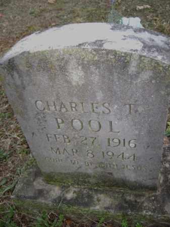 POOL,, CHARLES T. - Washington County, Arkansas   CHARLES T. POOL, - Arkansas Gravestone Photos