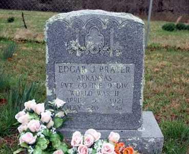 PRATER (VETERAN WWII), EDGAR J - Washington County, Arkansas | EDGAR J PRATER (VETERAN WWII) - Arkansas Gravestone Photos