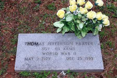 PRATER (VETERAN WWII), THOMAS JEFFERSON - Washington County, Arkansas   THOMAS JEFFERSON PRATER (VETERAN WWII) - Arkansas Gravestone Photos
