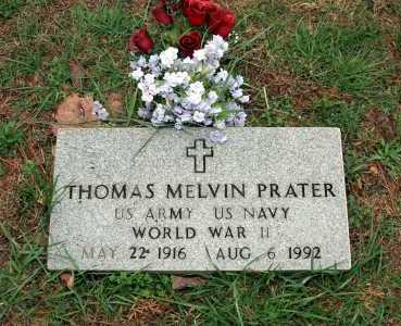 PRATER (VETERAN WWII), THOMAS MELVIN - Washington County, Arkansas | THOMAS MELVIN PRATER (VETERAN WWII) - Arkansas Gravestone Photos