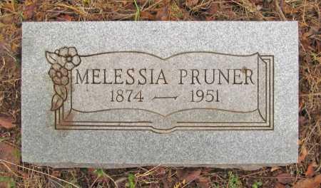 PRUNER, MELESSIA - Washington County, Arkansas   MELESSIA PRUNER - Arkansas Gravestone Photos