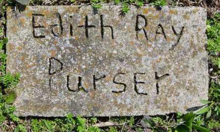 PURSER, EDITH RAY - Washington County, Arkansas   EDITH RAY PURSER - Arkansas Gravestone Photos
