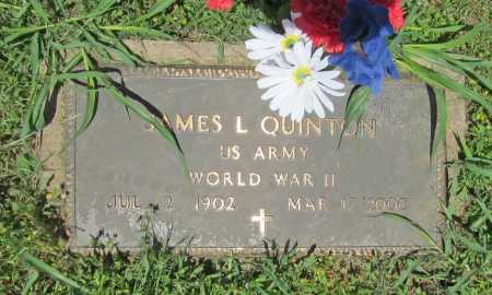 QUINTON (VETERAN WWII), JAMES L. - Washington County, Arkansas | JAMES L. QUINTON (VETERAN WWII) - Arkansas Gravestone Photos