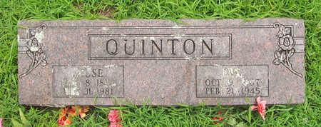 QUINTON, EVA - Washington County, Arkansas | EVA QUINTON - Arkansas Gravestone Photos
