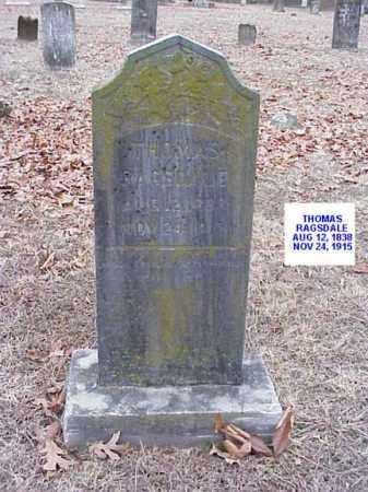 RAGSDALE, THOMAS - Washington County, Arkansas | THOMAS RAGSDALE - Arkansas Gravestone Photos