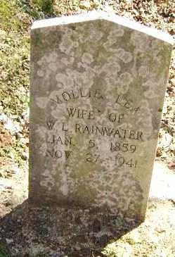LEA RAINWATER, MOLLIE - Washington County, Arkansas   MOLLIE LEA RAINWATER - Arkansas Gravestone Photos