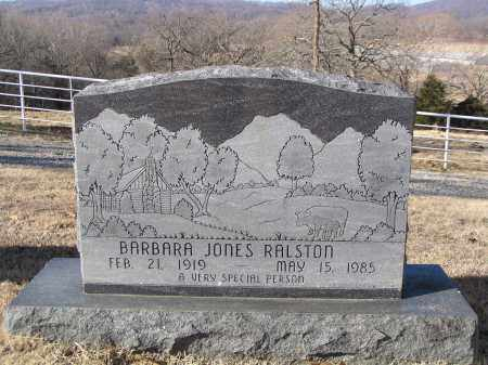 JONES RALSTON, BARBARA ANN - Washington County, Arkansas | BARBARA ANN JONES RALSTON - Arkansas Gravestone Photos