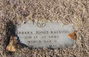 RALSTON (VETERAN WWII), BARBARA ANN - Washington County, Arkansas | BARBARA ANN RALSTON (VETERAN WWII) - Arkansas Gravestone Photos