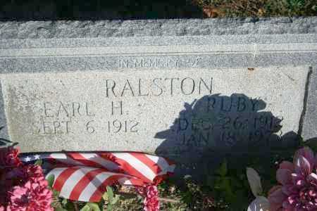 RALSTON, RUBY H. - Washington County, Arkansas | RUBY H. RALSTON - Arkansas Gravestone Photos