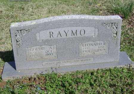 RAYMO, LEONARD R. - Washington County, Arkansas   LEONARD R. RAYMO - Arkansas Gravestone Photos