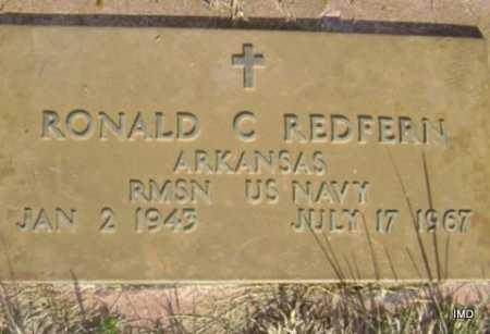 REDFERN  (VETERAN), RONALD C. - Washington County, Arkansas | RONALD C. REDFERN  (VETERAN) - Arkansas Gravestone Photos