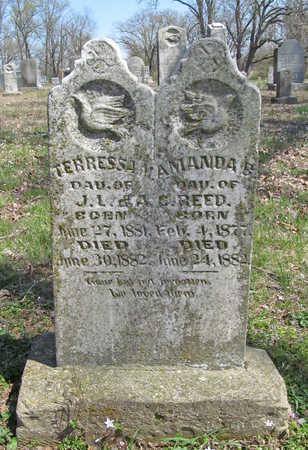 REED, AMANDA P - Washington County, Arkansas | AMANDA P REED - Arkansas Gravestone Photos