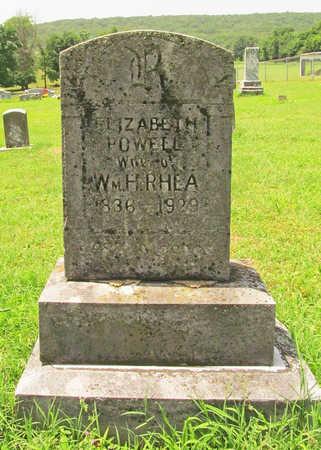 RHEA, ELIZABETH CORNELIA - Washington County, Arkansas | ELIZABETH CORNELIA RHEA - Arkansas Gravestone Photos