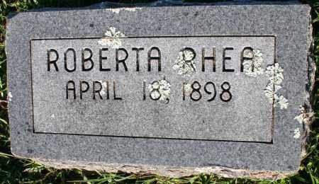 RHEA, ROBERTA - Washington County, Arkansas | ROBERTA RHEA - Arkansas Gravestone Photos