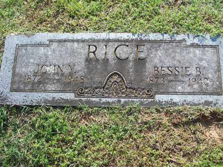RICE, BESSIE B. - Washington County, Arkansas   BESSIE B. RICE - Arkansas Gravestone Photos