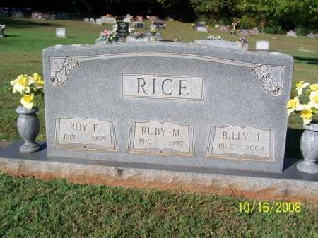 RICE, BILLY JOE - Washington County, Arkansas | BILLY JOE RICE - Arkansas Gravestone Photos