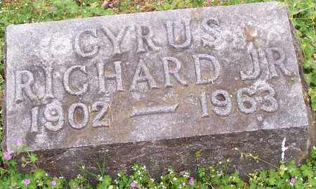 RICHARD, CYRUS JR. - Washington County, Arkansas   CYRUS JR. RICHARD - Arkansas Gravestone Photos