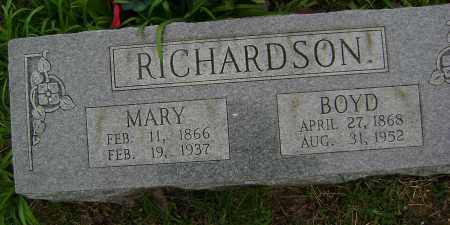 RICHARDSON, MARY - Washington County, Arkansas | MARY RICHARDSON - Arkansas Gravestone Photos