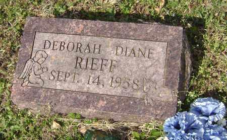 RIEFF, DEBORAH DIANE - Washington County, Arkansas | DEBORAH DIANE RIEFF - Arkansas Gravestone Photos