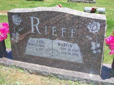 RIEFF, EXIE ELLEN - Washington County, Arkansas | EXIE ELLEN RIEFF - Arkansas Gravestone Photos