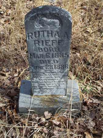 RIEFF, RUTHA A. - Washington County, Arkansas   RUTHA A. RIEFF - Arkansas Gravestone Photos