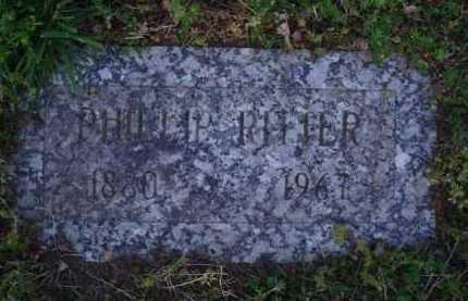 RITTER, PHILLIP - Washington County, Arkansas   PHILLIP RITTER - Arkansas Gravestone Photos