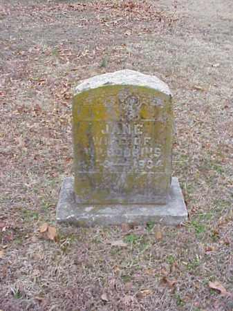 ROBBINS, JANE - Washington County, Arkansas | JANE ROBBINS - Arkansas Gravestone Photos