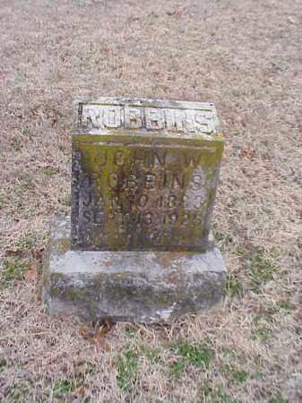 ROBBINS, JOHN W. - Washington County, Arkansas   JOHN W. ROBBINS - Arkansas Gravestone Photos
