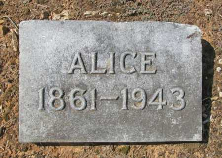 ROBERTS, ALICE - Washington County, Arkansas | ALICE ROBERTS - Arkansas Gravestone Photos
