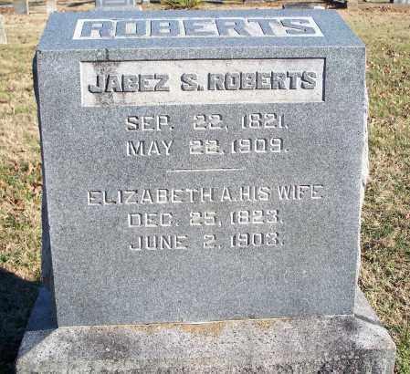 ROBERTS, ELIZABETH A. - Washington County, Arkansas   ELIZABETH A. ROBERTS - Arkansas Gravestone Photos