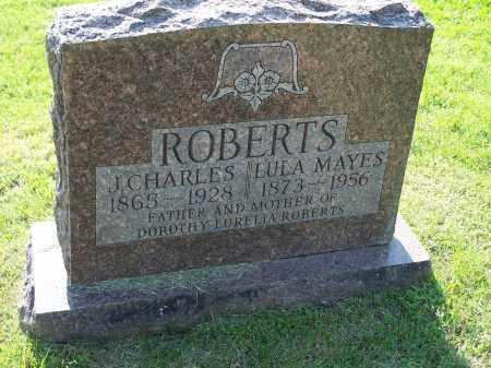 MAYES ROBERTS, LULA - Washington County, Arkansas | LULA MAYES ROBERTS - Arkansas Gravestone Photos