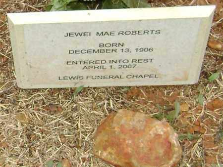 ROBERTS, JEWEL MAE - Washington County, Arkansas | JEWEL MAE ROBERTS - Arkansas Gravestone Photos