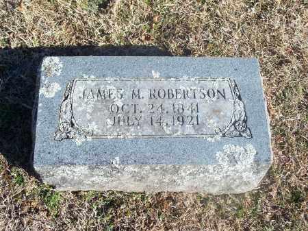 ROBERTSON, JAMES M. - Washington County, Arkansas   JAMES M. ROBERTSON - Arkansas Gravestone Photos