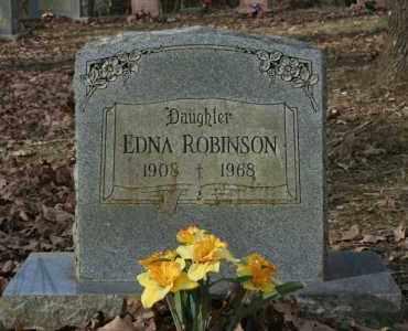ROBINSON, EDNA - Washington County, Arkansas | EDNA ROBINSON - Arkansas Gravestone Photos