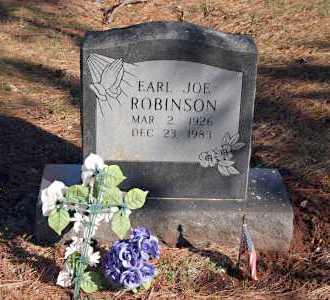 ROBINSON, EARL JOE - Washington County, Arkansas   EARL JOE ROBINSON - Arkansas Gravestone Photos