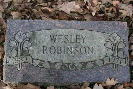 ROBINSON, WESLEY - Washington County, Arkansas | WESLEY ROBINSON - Arkansas Gravestone Photos