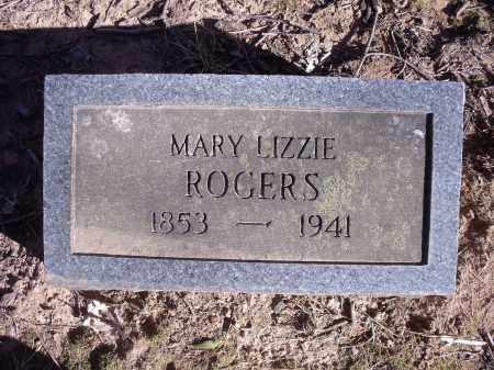 "ROGERS, MARY ""MAGGIE"" LIZZIE - Washington County, Arkansas | MARY ""MAGGIE"" LIZZIE ROGERS - Arkansas Gravestone Photos"