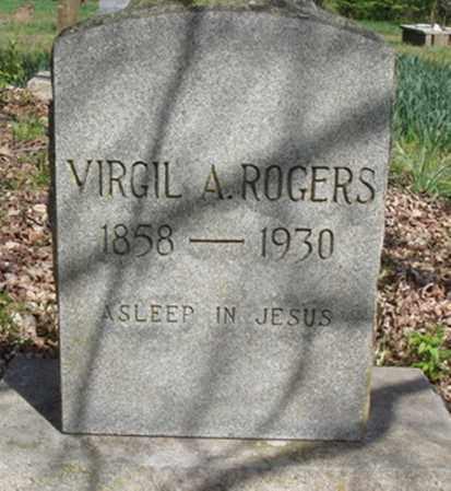 ROGERS, VIRGIL A. - Washington County, Arkansas | VIRGIL A. ROGERS - Arkansas Gravestone Photos