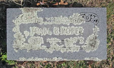 ROPER, TEARL B - Washington County, Arkansas   TEARL B ROPER - Arkansas Gravestone Photos