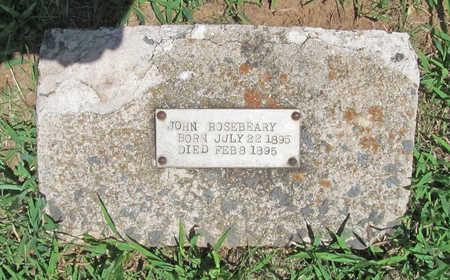 ROSEBEARY, JOHN - Washington County, Arkansas | JOHN ROSEBEARY - Arkansas Gravestone Photos