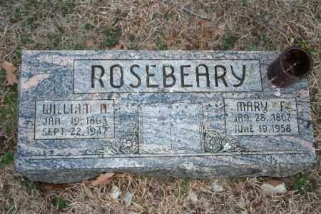 ROSEBEARY, WILLIAM H - Washington County, Arkansas | WILLIAM H ROSEBEARY - Arkansas Gravestone Photos