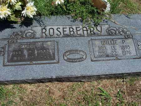 ROSEBEARY, WILLIE P. - Washington County, Arkansas | WILLIE P. ROSEBEARY - Arkansas Gravestone Photos