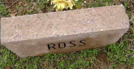 ROSS, UNKNOWN - Washington County, Arkansas | UNKNOWN ROSS - Arkansas Gravestone Photos