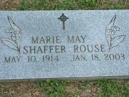 SHAFFER ROUSE, MARIE MAY - Washington County, Arkansas | MARIE MAY SHAFFER ROUSE - Arkansas Gravestone Photos