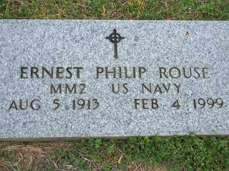ROUSE (VETERAN WWII), ERNEST PHILIP - Washington County, Arkansas   ERNEST PHILIP ROUSE (VETERAN WWII) - Arkansas Gravestone Photos